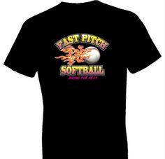 Bring The Heat Softball Tshirt
