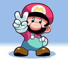 Mario by rongs1234.deviantart.com on @DeviantArt