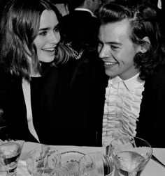Harry Styles & Lily Collins