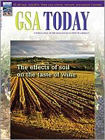 GSA Today - The effects of soil on the taste of wine.