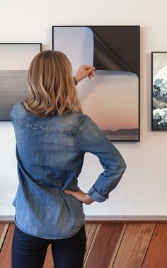Why didn't someone think of this sooner? SwitchArt™ Magnetic Frames and Prints let you change art easily within the same frame. Best part: you can turn your personal photos into SwitchArt™ Prints too. Take your photos stream straight to your walls!