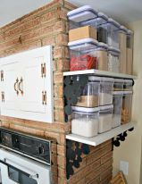 Inspired small kitchen remodel and storage organization ideas (3)