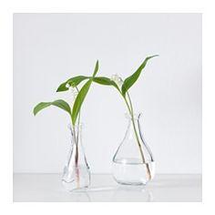 VÅRVIND Váza, sada 2 kusů, čiré sklo - IKEA