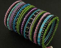 bransoletki - szkło-memory - disco Bangles, Bracelets, Memories, Jewelry, Memoirs, Souvenirs, Jewlery, Bijoux, Schmuck