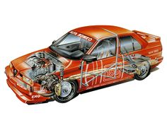 Alfa Romeo 155 race car - http://erikwestrallying.tumblr.com/