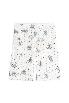 ALEXANDER MCQUEEN Printed Cotton Shorts. #alexandermcqueen #cloth #