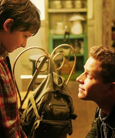 Charming: I will FIND your mother and Grandmother. Trust me. I will ALWAYS find them. <3 <3   Henry: Of course you will!