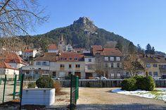 Les Cordeliers, jardin public de Salins-les-Bains