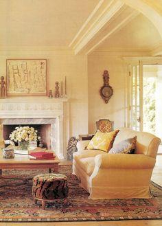 Living Rooms Ideas Waterbury Cream Benjamin Moore On