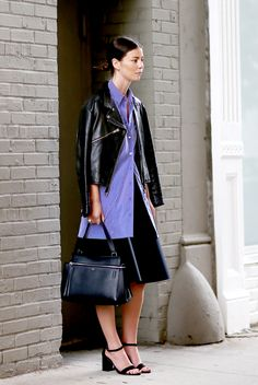 Love these layers. #AnninaMislin in NYC.