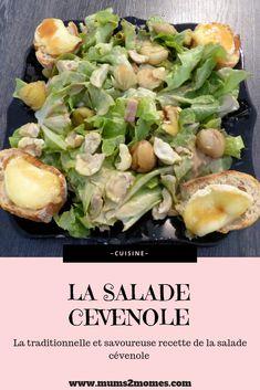 #cuisine #recette #cook #salade #entree #plat #saladecevenole #chevrechaud #cevennes #cevenole #terroir #marron #lardon #idee #partage #blog #culinaire C'est Bon, Potato Salad, Potatoes, Shape, Ethnic Recipes, Summer, Blog, Cooking Recipes, Summer Time