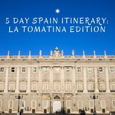 5 Day Spain Itinerary - How to see and do the best of Madrid, Valencia and Barcelona in just one week.