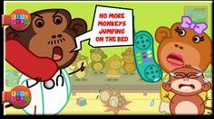Five Little Monkeys - Nursery Rhymes for Kids by Kidssongtv