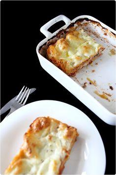 Lasagne au thon et ricotta
