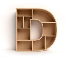 Letter D shaped shelves Cube Furniture, Home Decor Furniture, Kids Furniture, Furniture Design, Wall Shelf Decor, Wall Shelves, Shelving, Bookshelf Design, Shelves In Bedroom