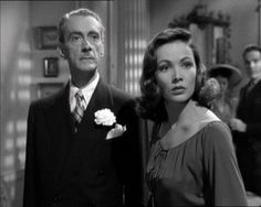 Clifton Webb and Gene Tierney in Laura 1944 Classic Film Noir, Classic Movie Stars, Classic Films, Old Hollywood Movies, Hollywood Actor, Classic Hollywood, Gene Tierney, Laura 1944, Clifton Webb