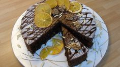 Čokoládovo - ořechový dort bez mouky