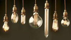 Edison inspired Vintage styled LED bulbs