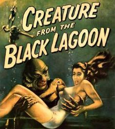 Creature from the Black Lagoon (1954)   I was 9 or 10 when I first saw this, never forgot it...