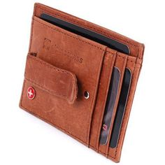e7be5e30d Alpine Swiss Spring Money Clip Wallet (3) #moneyclipwallet Billeteras, Cuero,  Carteras