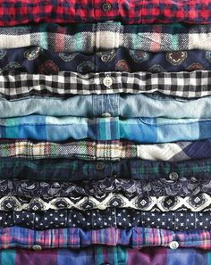Flannels! Flannels! Flannels!