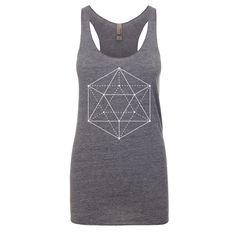 Sacred Geometry Clothing - Sacred Geometry Tank Top - Icosahedron