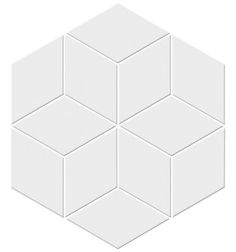 What do you think of this tile, Amanda, for the bath feature in the main bath? Any idea of the price? Ceramic Mosaic - Cube - 75358