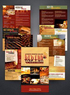 Indian Restaurant  Menu Template Design  Restaurant Menu Designs