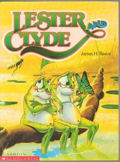 Lester & Clyde - James H Reece large print picture book frog in Books, Magazines, Children & Young Adults Books, Children's Picture Books Clyde Frog, Online Stories, Library Lessons, Sci Fi Books, Environmental Issues, Children's Literature, Great Pictures, Teaching English, Childrens Books