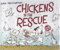 HABIT #6 Synergize... Great for all ages but especially the little ones. Chickens to the Rescue: Activities for retelling, problem solving, art activity