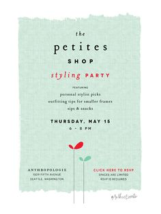 It'S A Petite'S Styling Party At Anthropologie!