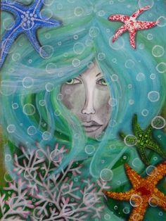 The Kingdom of White Witch Sea Witch, Witch Art, White Witch, Beach Cottages, Tarot, About Me Blog, My Arts, Painting, Inspiration