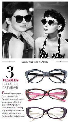 1076401a54 love affair with cat eye glasses  eyewear  retro  cateye With my 2 favorite