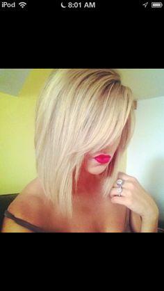 Best Hairstyle for Women Short Fine Hair Hair styles Bob Haircuts For Women, Long Bob Haircuts, Hairstyles Haircuts, Pretty Hairstyles, Fringe Hairstyles, Quick Hairstyles, Hairstyle Ideas, Love Hair, Great Hair