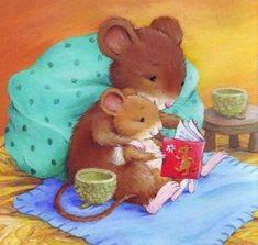 Leading Illustration & Publishing Agency based in London, New York & Marbella. Cute Animal Drawings, Cute Drawings, Illustrations Vintage, Cute Mouse, Tatty Teddy, Children's Book Illustration, Whimsical Art, Cute Art, Illustrators