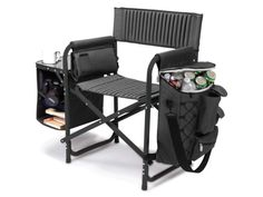 Chair, cooler and table in one! This chair has it all!