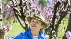 Robyn Clubb in her Orchard, Wisbeys, at Araluen where she is preparing to open a cafe.