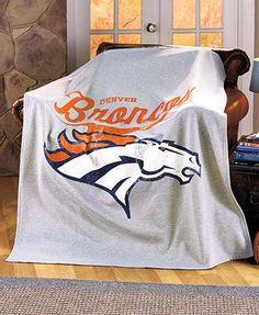 NFL Distressed Sweatshirt Throws