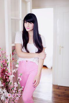 pink pants / simplicity