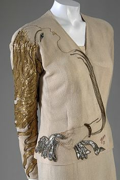 stunning and fanciful....Elsa Schiaparelli....suit...