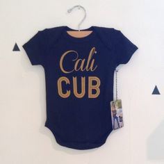 Cali Cub Bodysuit in Black by Weestructed for Stripes Boutique