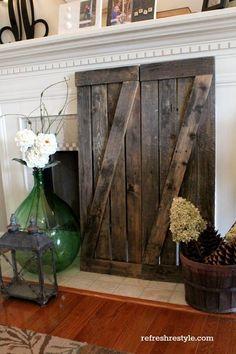 Driftwood shutters 2