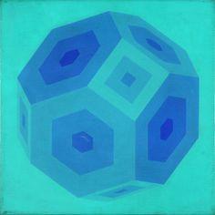 "POLESELLO, Rogelio ""SIN TITULO"" Acrílico sobre tela 40 x 40 cms / Sacred Geometry <3"