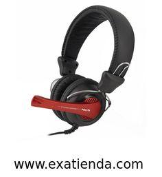 Ya disponible Auricular + mic NGS vox360dj 3.5mm   (por sólo 19.95 € IVA incluído):   - Ideal para todas sus aplicaciones de comunicación de voz por IP y demás aplicaciones interactivas de audio para PC. Tecnología exclusiva de filtrado y de amplificación para eliminar los ruidos de fondo no deseados.  - Especificaciones técnicas: - Frecuencia de respuesta: 100Hz ~ 18 kHz - Sensibilidad: 104 dB - Impedancia: 32 Ohm/Hz - Longitud del cable: 2.2m - Potencia máxima: 30