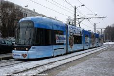 020 Linz Auwiesen 04.01.2011 - Bombardier Cityrunner Train Light, Light Rail, Transportation, World, Modern, Image, Europe, Trains, Pictures