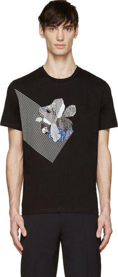 Markus Lupfer - Short sleeve t-shirt in black.