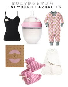 Postpartum + Newborn Favorites
