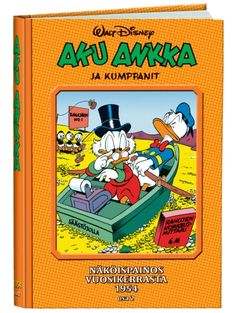 AA Näköispainos 1954, osa 2 Donald Duck, Comic Books, Comics, Disney, Cartoons, Cartoons, Comic, Comic Book, Comics And Cartoons