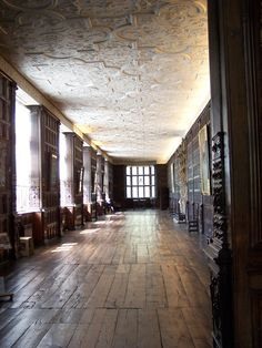 The Long Gallery at Aston Hall, Birmingham UK