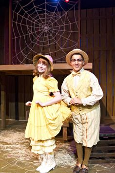"""Goose, gander costume ideas from my production of """"Charlotte's Web"""" at Theatre Arlington.  Costumed by Meredith Hinton."""